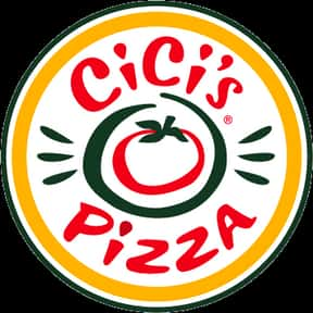 CiCi's Pizza is listed (or ranked) 12 on the list The Greatest Pizza Delivery Chains In The World