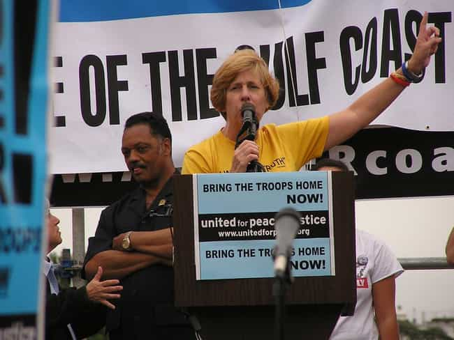 Cindy Sheehan is listed (or ranked) 2 on the list Famous Female Peace Activists