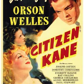 Citizen Kane is listed (or ranked) 9 on the list The Best Black and White Movies Ever Made