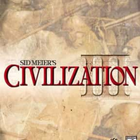 Civilization III is listed (or ranked) 8 on the list List of All Simulation Video Games