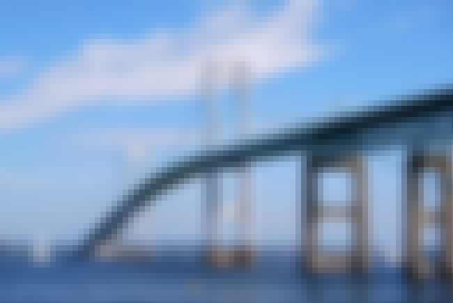 Claiborne Pell Newport Bridge is listed (or ranked) 3 on the list Bridges in Rhode Island