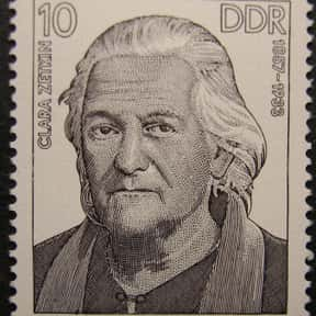 Clara Zetkin is listed (or ranked) 18 on the list Famous People Named Clara