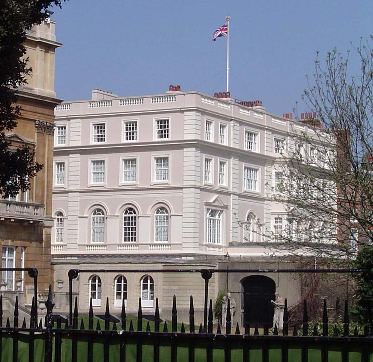Clarence House is listed (or ranked) 3 on the list The Outrageous Amounts Of Money It Costs To Run The Royal Estates