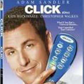 Click is listed (or ranked) 9 on the list The Best and Worst of Adam Sandler