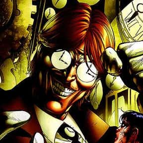 Clock King is listed (or ranked) 23 on the list All of Batman's Deadliest Villains & Enemies, Listed