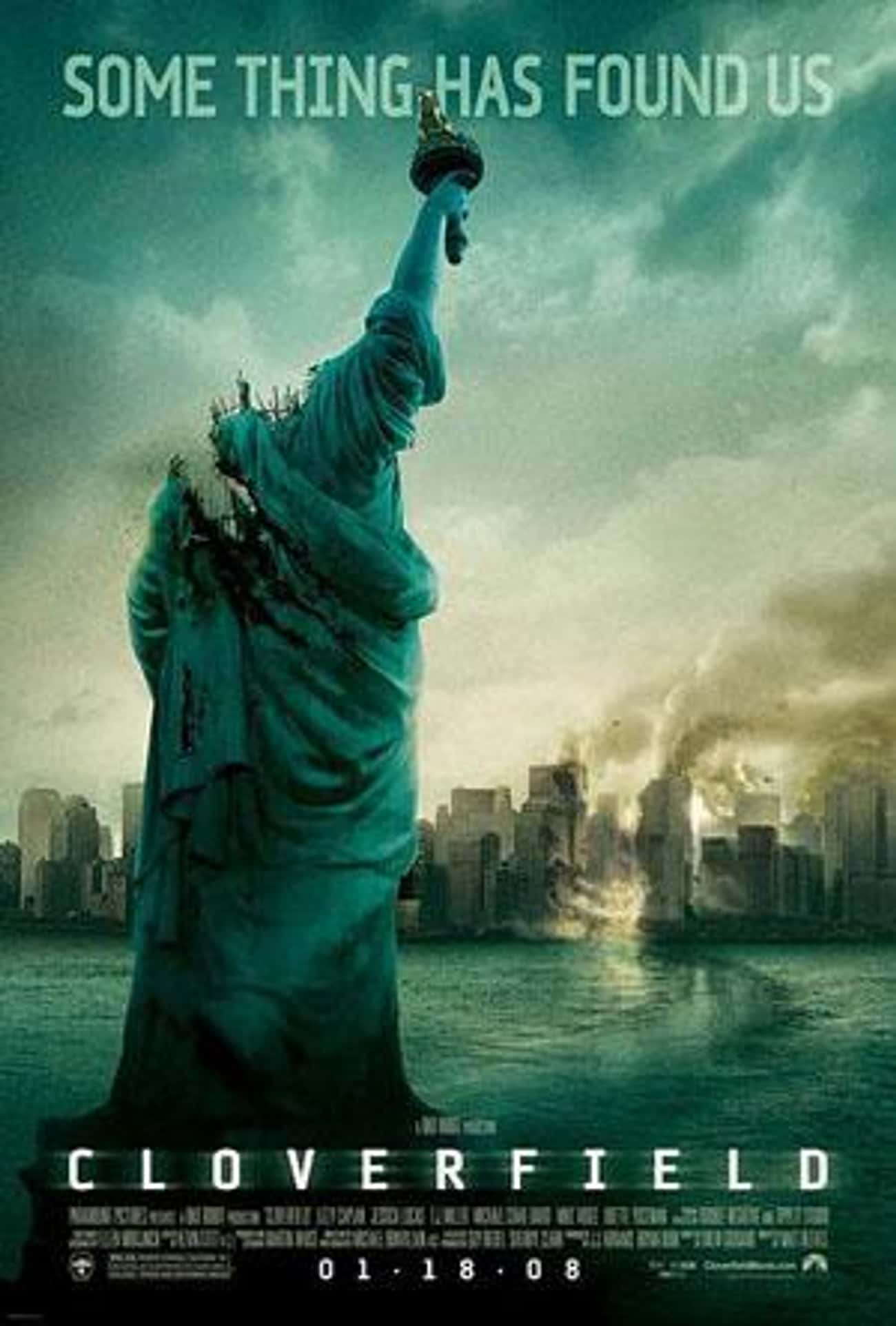 Cloverfield is listed (or ranked) 3 on the list The Best CGI Horror Movies