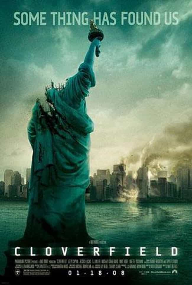 Cloverfield is listed (or ranked) 1 on the list Bad Robot Productions Movies List