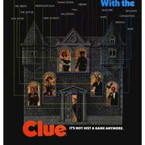 Clue is listed (or ranked) 5 on the list The Funniest Movies About Death & Dying