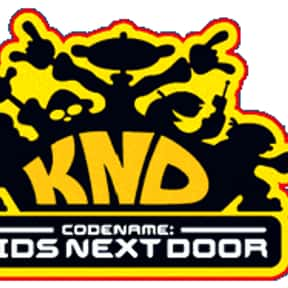 Codename: Kids Next Door is listed (or ranked) 5 on the list The Best Cartoon Network TV Shows