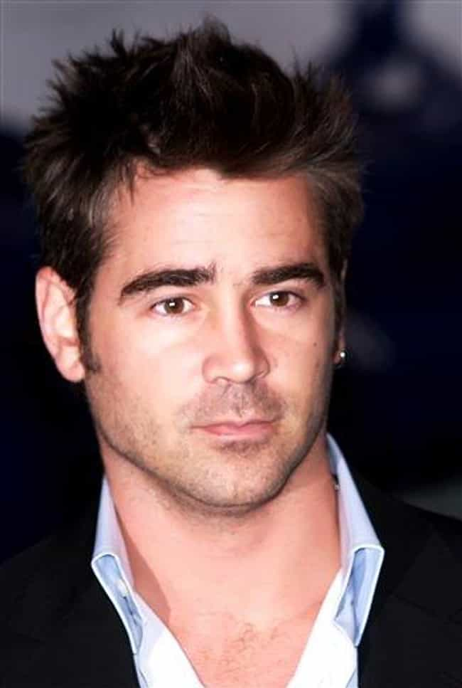 Colin Farrell is listed (or ranked) 3 on the list The Most Captivating Celebrity Eyes (Men)