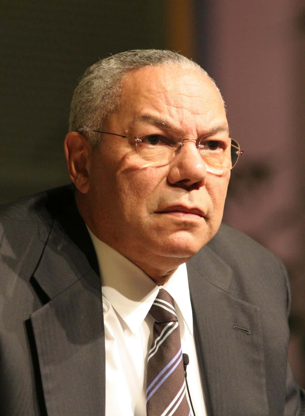 Colin Powell is listed (or ranked) 4 on the list Famous People Born in 1937