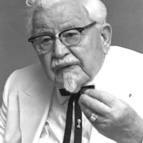 Colonel Sanders is listed (or ranked) 9 on the list Famous People Whose Last Name Is Sanders