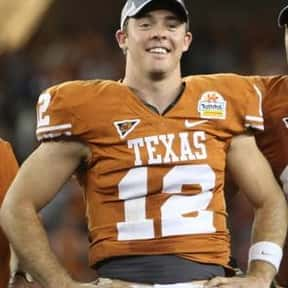 Colt McCoy is listed (or ranked) 2 on the list The Best Texas Longhorns Quarterbacks of All Time