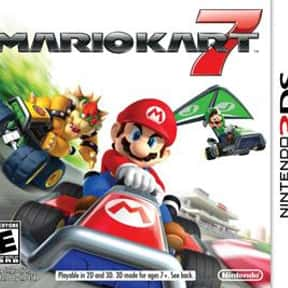Mario Kart 7 is listed (or ranked) 8 on the list The Best Nintendo 3DS Games of All Time, Ranked by Fans