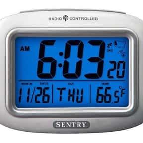 Sentry ATC30 Big Screen Weather Atomic Clock