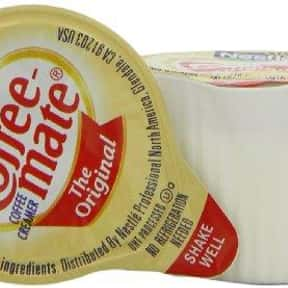 Coffee-mate Coffee Creamer is listed (or ranked) 3 on the list The Best Milk Substitutes for Your Cereal