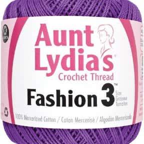 Aunt Lydia's Fashion Crochet Cotton Size 3-Purple