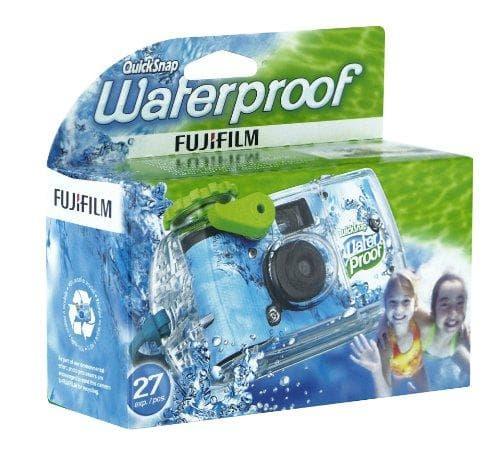 Fujifilm Quick Snap Waterproof 35mm Single Use Camera on Random Best Disposable Cameras