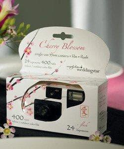 Cherry Blossom Single Use Camera Style 8674 on Random Best Disposable Cameras