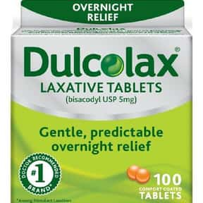 Dulcolax Laxative Tablets is listed (or ranked) 2 on the list The Best Laxatives