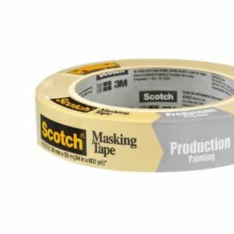 Scotch Masking Tape for Production Painting
