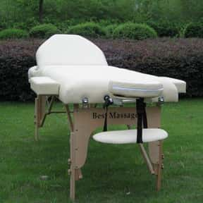 """77"""" Long 3"""" Pad Cream Portable is listed (or ranked) 21 on the list The Best Massage Tables"""