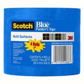 3M ScotchBlue Painter's Tape f is listed (or ranked) 2 on the list The Best Painters Tape