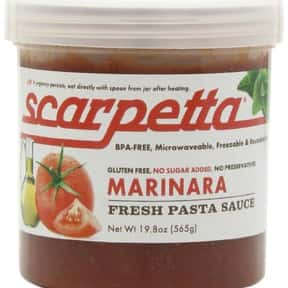Scarpetta Marinara Sauce is listed (or ranked) 19 on the list The Best Pizza Sauce