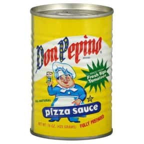 Don Pepino Pizza Sauce is listed (or ranked) 1 on the list The Best Pizza Sauce