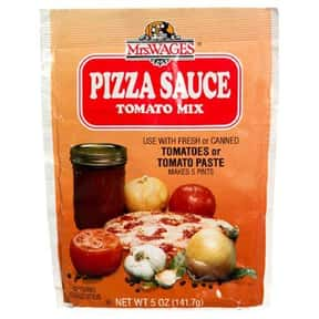 Mrs. Wages Pizza Sauce Tomato  is listed (or ranked) 23 on the list The Best Pizza Sauce
