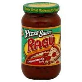 Ragu Pizza Sauce is listed (or ranked) 18 on the list The Best Pizza Sauce