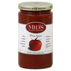 Mid's Pizza Sauce is listed (or ranked) 12 on the list The Best Pizza Sauce