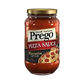 Prego Pizza Sauce is listed (or ranked) 16 on the list The Best Pizza Sauce