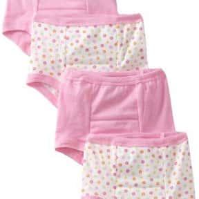 Gerber Girls 4 Pack Training Pants