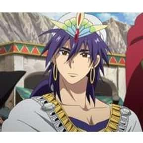 Sinbad is listed (or ranked) 8 on the list 30+ Male Anime Characters Who Aren't Afraid to Rock a Ponytail