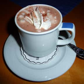 Hot chocolate is listed (or ranked) 10 on the list The Most Comforting Comfort Food