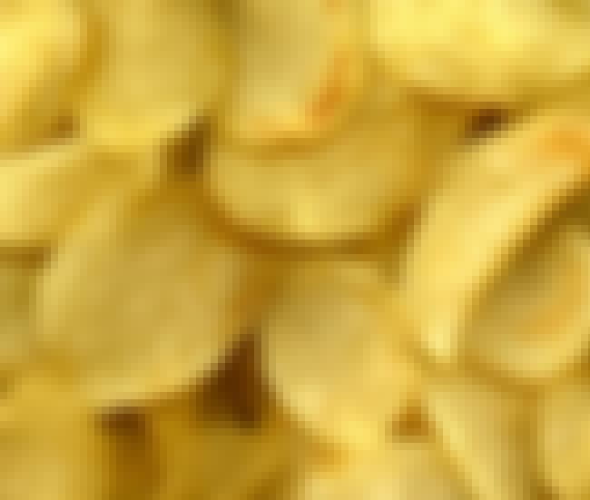 Potato chip is listed (or ranked) 2 on the list Famous Foods Discovered by Accident