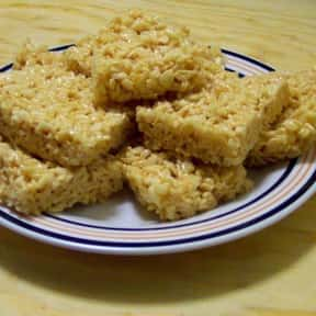 Rice Krispies Treats is listed (or ranked) 23 on the list The Most Delicious Kinds Of Dessert