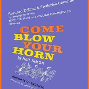 Come Blow Your Horn is listed (or ranked) 8 on the list Neil Simon Plays
