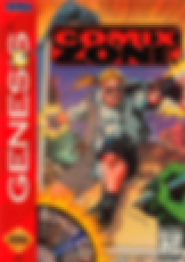 Comix Zone is listed (or ranked) 5 on the list Vick's Video Game Picks