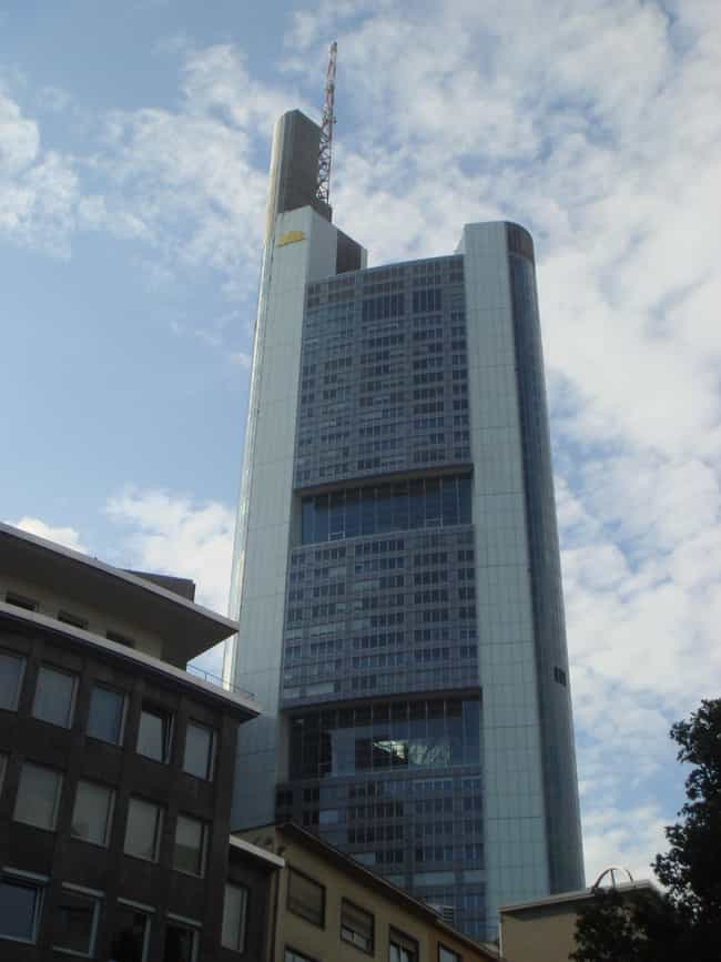 Commerzbank Tower is listed (or ranked) 1 on the list List of Famous Frankfurt Buildings & Structures