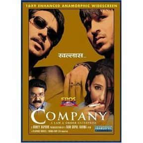 Company is listed (or ranked) 7 on the list The Best Bollywood Movies of All Time