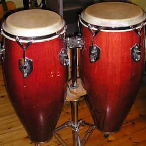 Conga is listed (or ranked) 9 on the list Instruments in the Percussion Family