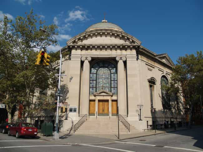 Congregation Beth Elohim is listed (or ranked) 4 on the list List of Famous Brooklyn Buildings & Structures