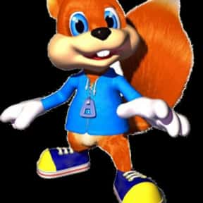 Conker the Squirrel is listed (or ranked) 18 on the list The Best Nintendo 64 Characters