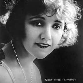 Constance Talmadge is listed (or ranked) 12 on the list List of Famous Silent Film Actresses