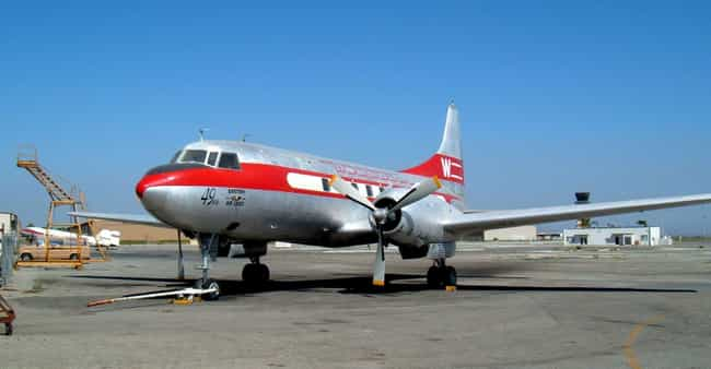 Convair CV-240 family is listed (or ranked) 3 on the list Convair Airplanes and Aircrafts