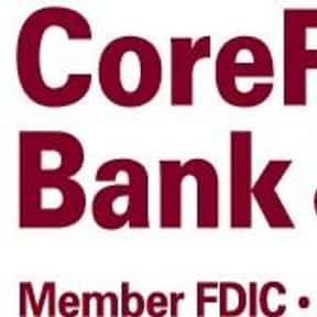 CoreFirst Bank & Trust is listed (or ranked) 12 on the list Companies Headquartered in Kansas