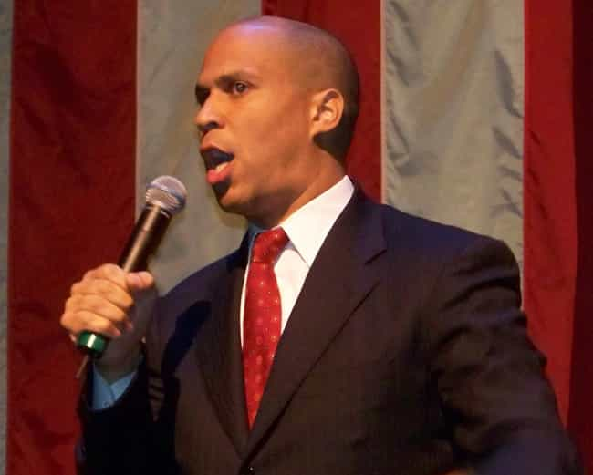 Cory Booker is listed (or ranked) 3 on the list Cenk Uygur on Hillary Clinton's Potential VP Picks