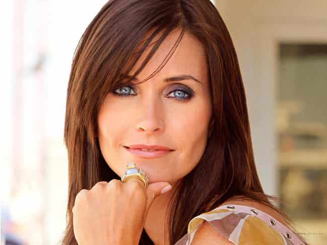 Courteney Cox is listed (or ranked) 4 on the list Female Celebrities Who Are 5'5